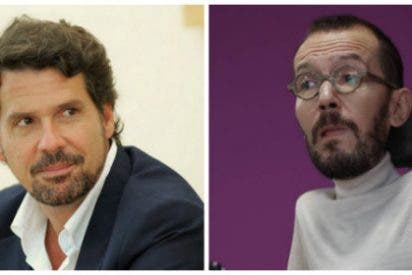 """León Gross (El País) le pega un baño por metepatas a Pablo Echenique: """"¿Pretendes dictarnos nuestro trabajo?"""""""