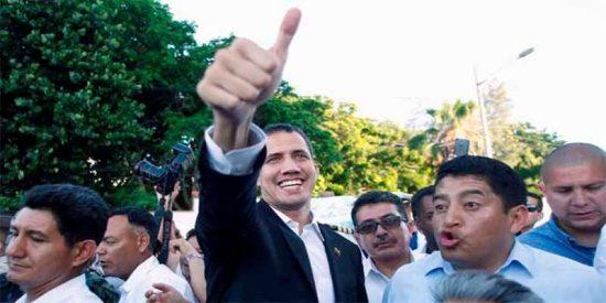 El presidente Guaidó anuncia en Ecuador su regreso a Venezuela y convoca movilizaciones contra la dictadura