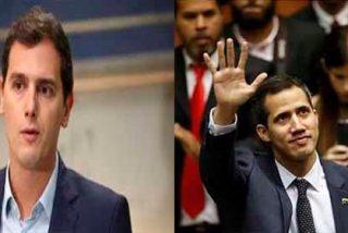 Todos contra el dictador: Albert Rivera se reune con Ecarri, el embajador designado por Guaidó