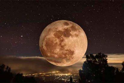 ¿Sabes qué es la 'luna de gusano', que sale el primer día de primavera y no se veía desde hace 40 años?