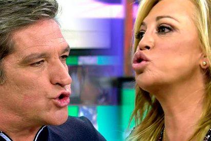 Belén Esteban y Gustavo González como dos 'energúmenos' echándose en cara todo tipo de reproches