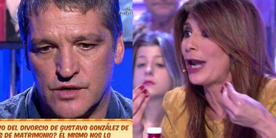 """El enfrentamiento más duro entre Gema López y Gustavo González: """"Ya es tarde para disculpas. No tires balones fuera"""""""