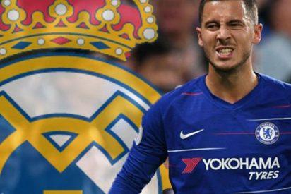 Los motivos de los guiños que lanza Hazard al Real Madrid