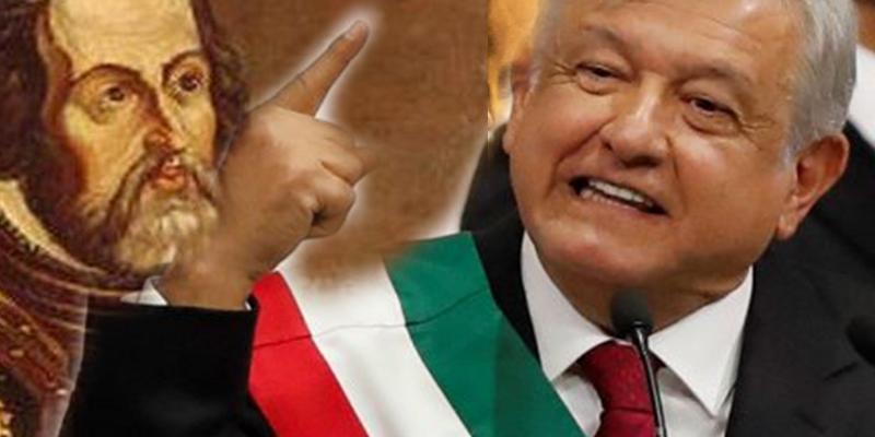 Las mentiras históricas sobre Hernán Cortés que cuenta el tontarra que tiene México como presidente