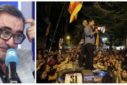Carlos Herrera acorrala al empresario teatral que impidió escapar de la turba golpista a la letrada acosada el 20-S