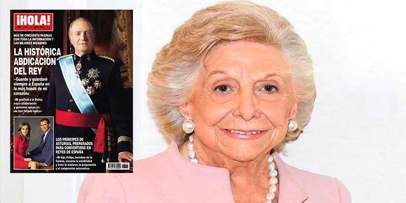 Muere a los 99 años Mercedes Junco, fundadora de la revista '¡Hola!'
