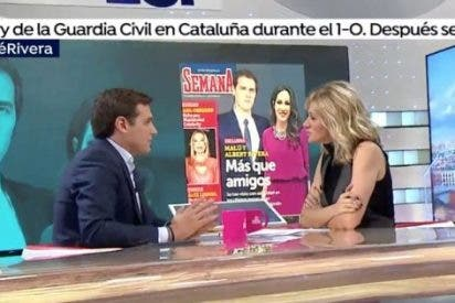 El corte de Albert Rivera a la cotilla Susanna Griso por preguntarle por Malú