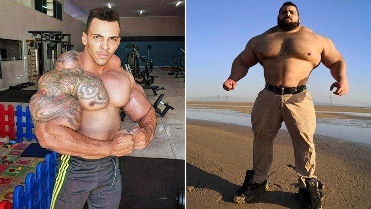 """Le voy a arrancar la cabeza"": El 'Hulk' brasileño reta al 'Hulk' iraní a una pelea de MMA"