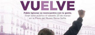 La pesadilla demoscópica que enfría a base de bien el esperpéntico show de reaparición de Pablo Iglesias