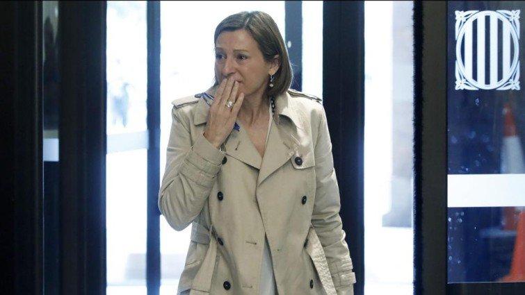 El Supremo se planta ante el Gobierno PSOE-Podemos y sus socios independentistas y revoca el régimen de semilibertad de Forcadell