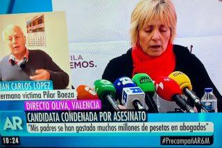 El hermano del asesinado por Pilar Baeza avisa a Ana Rosa: ¡si pillo a Echenique...!