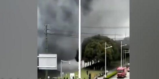 Varios muertos en un incendio en una fábrica en el este de China