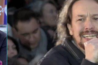 """Bienvenida a porrazos al macho alfa de Podemos: """"Le veo fondón y con pinta de haber dormido vestido varios días"""""""