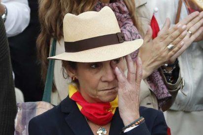 Familia Real: La Infanta Elena recuerda emocionada a su abuela, la Condesa de Barcelona