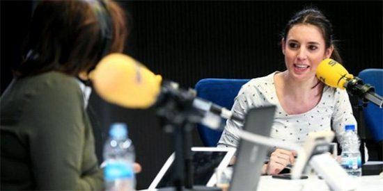Una soberbia Irene Montero se queja en la SER de que les ha penalizado no tener amigos en los medios y Pepa Bueno le desmonta la bobada