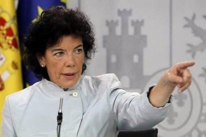 ¿En qué mundo vives, Celaá? La ministra de Educación niega el sectarismo anti-español en los colegios catalanes