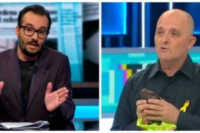"""El impresentable Jair Domínguez, el 'nuevo' Toni Albà de la golpista TV3: """"Con la venia, señoría, puta España"""""""