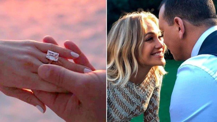 La colección de anillos de compromiso de Jennifer Lopez