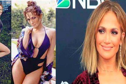 La bella Jennifer López se sube la camiseta y se baja el pantalón en Instagram