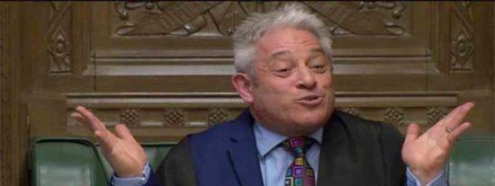 ¿Sabes quién es y por qué grita tanto el presidente del Parlamento británico?