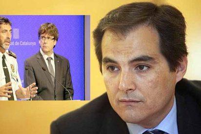 Nieto revienta la farsa de Trapero y su mentira sobre la 'captura' de Puigdemont inventada para evitar su condena