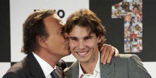 Númeos 1: El gran Julio Iglesias muestra su mejor cara al lado del maestro Rafa Nadal