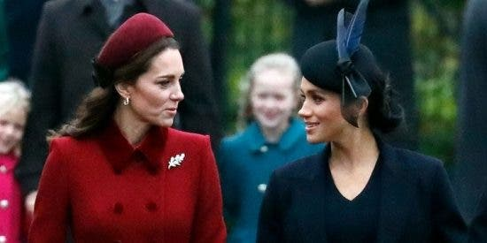 Las 7 palabras prohibidas para Kate Middleton y Meghan Markle