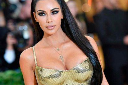 La maciza Kim Kardashian se pone un mono transparente y no deja nada a la imaginación