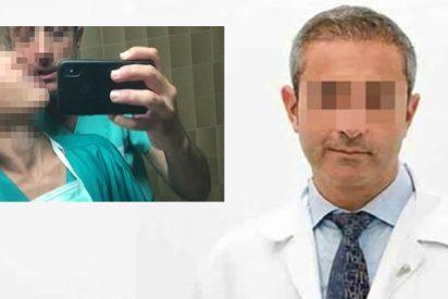 Este es 'Doctor L', el cirujano que se grabó un vídeo porno en el lavabo de la clínica