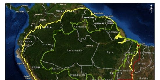 Planeta Tierra: La Amazonia pierde 350 km2 de agua dulce superficial cada año