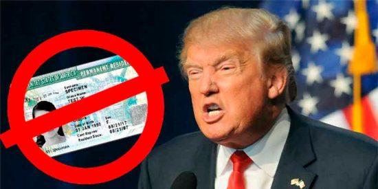 """EEUU aumentará el peso del requisito """"moral"""" para entregar el 'green card' y la naturalización a extranjeros"""