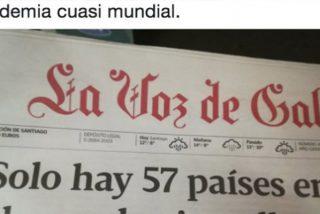 Cachondeo y merecido con este titular de 'La Voz de Galicia' sobre los gallegos