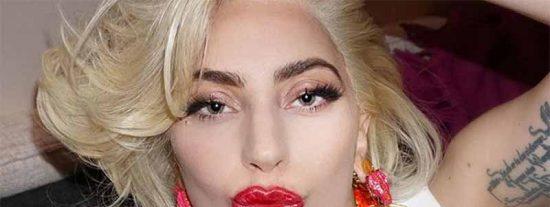 Lady Gaga no sólo está gordita, también bebe como una esponjita; la foto más terrible de la artista