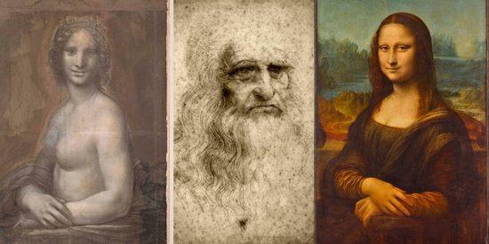 Descubren trazos de un zurdo en 'La Gioconda desnuda'... y creen que son de Leonardo da Vinci