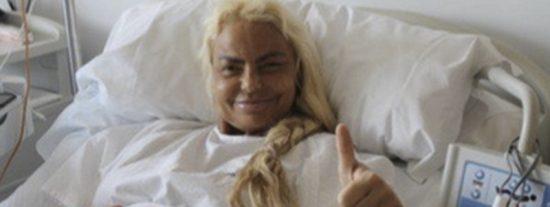 La metamorfosis de Leticia Sabater: su primera foto tras operarse para parecerse a Madonna