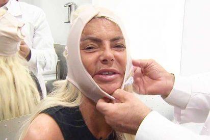 Cirují estética: Leticia Sabater tranquiliza a sus fans tras su operación para ser como Madonna