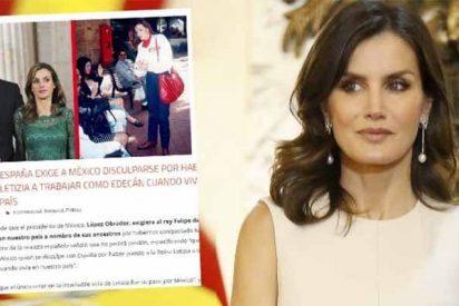 Picados por los palos que se está llevando el presidente Obrador, medios cutres de México cargan contra la reina Letizia