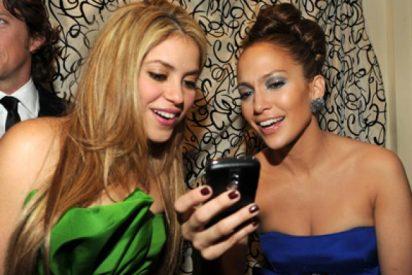 Foto inédita: Así se veían Shakira y Jennifer López antes de operar su nariz