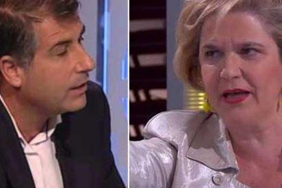 """Rahola acaba a gritos con López Alegre después de que este le acuse de adoctrinar en TV3: """"¡Yo estoy allí porque a la gente le gusto!"""""""