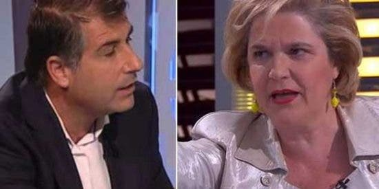 Rahola acaba a gritos con López Alegre después de que este le acuse de adoctrinar en TV3: