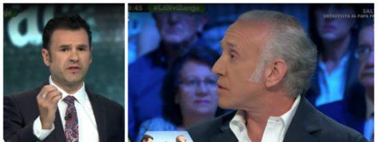 Eduardo Inda incendia laSexta rebatiendo las graves insinuaciones que le hace Iñaki López sobre el 'caso Villarejo'