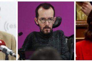 """Losantos se mofa recreando un 8-M con los femimachos 'Echeminga Dominga' y la ministra de la """"información vaginal"""""""