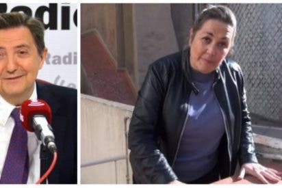 Losantos se pitorrea de la performance de Mayka Navarro imitando a la jueza acosada por los golpistas