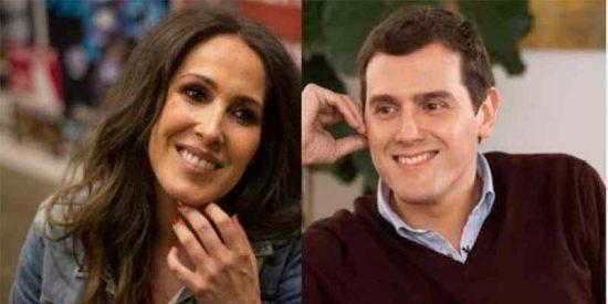 La cantante Malú pasa de apoyar al PSOE a 'primera dama' de Ciudadanos