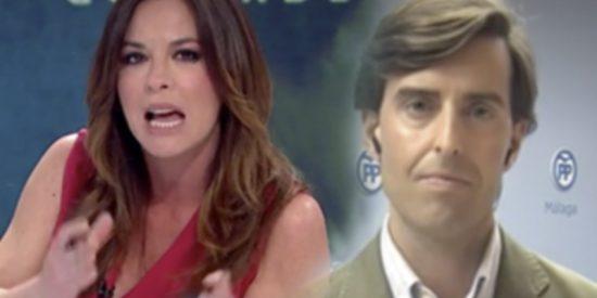 """Mamen Mendizábal muestra su cara más sectaria ante Pablo Montesinos: """"Me puedes llamar Pablo..."""""""