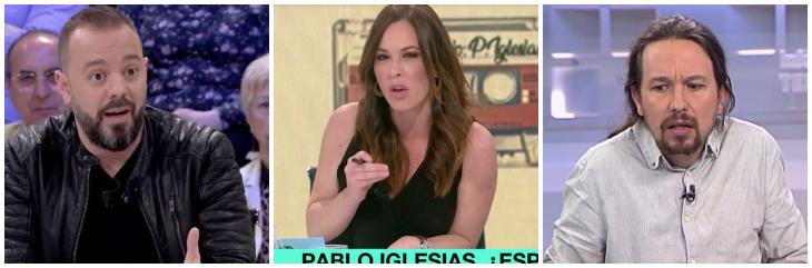 Mamen Mendizabal sale de cacería contra Inda por Villarejo 'olvidando' los robos de los Papeles de Panamá, Wikileaks, Falciani...