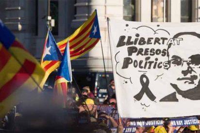 Pinchazo del independentismo catalán: solo reúnen a 18.000 en el esperpento separatista contra el TS en Madrid