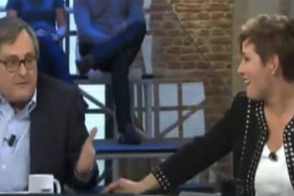 Paco Marhuenda deja con el flequillo caído a Cristina Pardo con esta frase