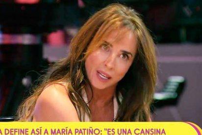 María Patiño criticada sin piedad por los espectadores de 'Sálvame'