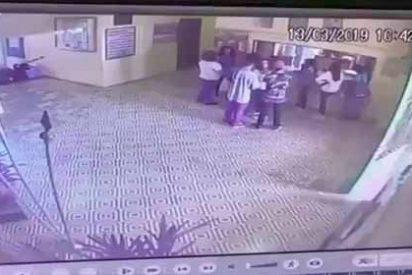 Pánico, tiros y muerte: el terrorífico vídeo de la masacre en la escuela de Brasil